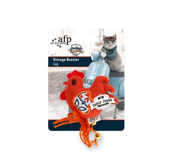 Игрушка для кошек - All for Paws Vintage Pet Vintage Rooster