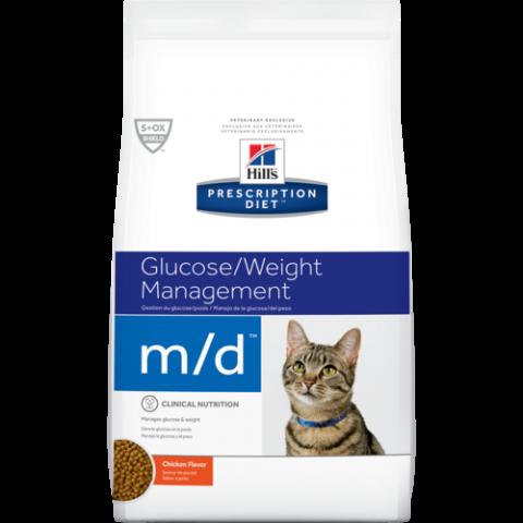 Veterinārā barība kaķiem - Hill's Feline m/d, 1.5 kg