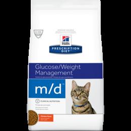 Veterinārā barība kaķiem - Hills Feline m/d, 1.5 kg
