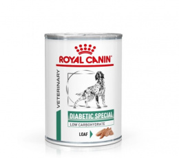 Veterinārie konservi suņiem - Royal Canin Veterinary Diet Diabetic Special Canine, 410 g