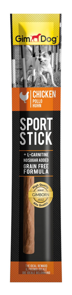 Gardums suņiem - GimDog Sports Stick Chicken, 12 g