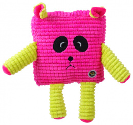 Игрушка для собак - Be Fun Calypso Square Panda, pink, 17.5 см