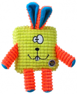 Игрушка для собак - Be Fun Calypso Square Rabbit, green, 12.5 см