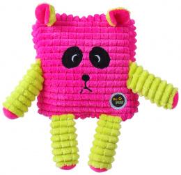 Rotaļlieta suņiem - Be Fun Calypso Square Panda, pink, 12.5 cm