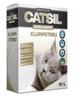 Cementējošās smiltis kaķu tualetei - CatSil, 10 L