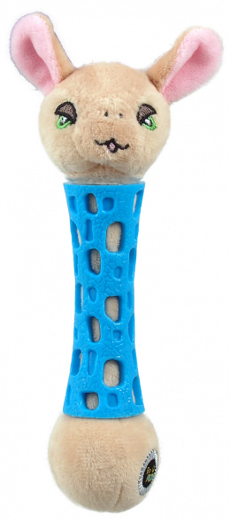 Rotaļlieta suņiem - Be Fun TPR toy + Plush Sheep, 17 cm