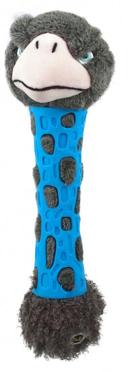Rotaļlieta suņiem - Be Fun TPR toy + Plush Ostrich, 38 cm