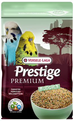 Корм для птиц - Versele-Laga Prestige Premium Budgies, 800 г