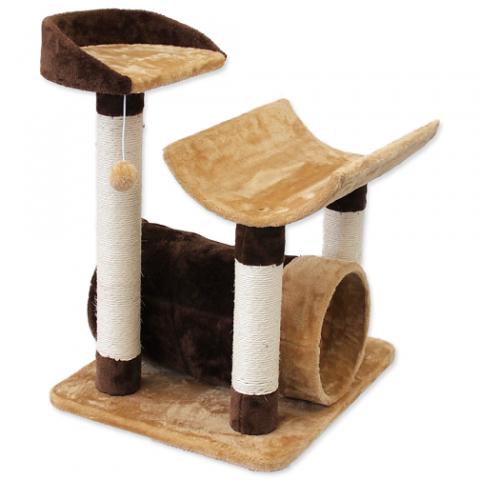Mājiņa kaķiem – Magic Cat Fiona 72 cm, Beige/Brown title=