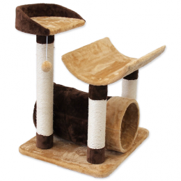 Mājiņa kaķiem – Magic Cat Fiona 72 cm, Beige/Brown