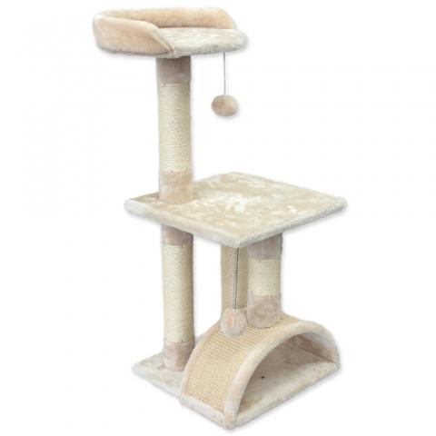 Mājiņa kaķiem – Magic Cat Luna 86 cm, Beige title=