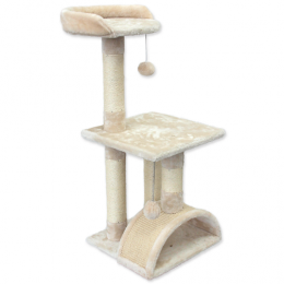 Mājiņa kaķiem – Magic Cat Luna 86 cm, Beige