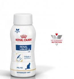 Barība sķidra kaķiem - Royal Canin Renal liquid 3x200ml