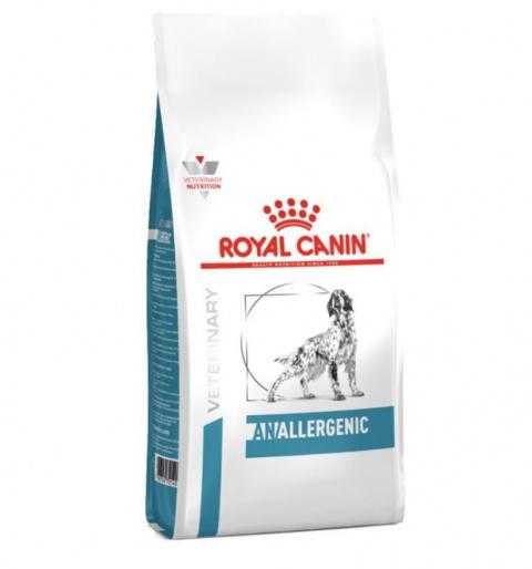 Ветеринарный корм для собак - Royal Canin Anallergenic, 3 кг