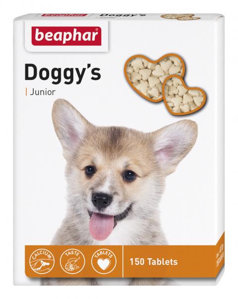 Gardums suņiem - Beaphar Doggy's Junior 150 tab. title=