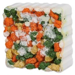 Минеральный камень для грызунов - TRIXIE Gnawing Stone with Vegetable Croquettes and Seaweed, 80 г