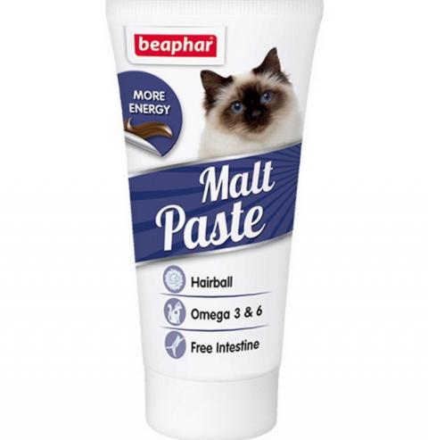 Пищевая добавка для кошек - Beaphar Malt-paste, 25 г