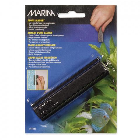 Magnēts akvārija stiklu tīrīšanai - MARINA Magnet Glass Cleaner, 10,5 x 4 cm title=