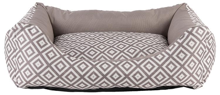 Спальное место для собак - Dog Fantasy DeLuxe Sofa, 63 x 53 x 18 см, brown