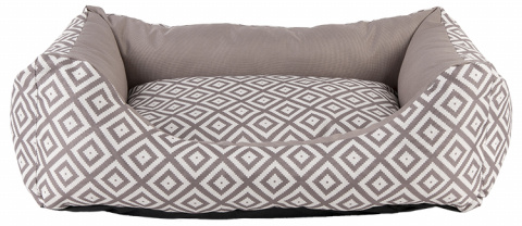 Спальное место для собак - Dog Fantasy DeLuxe Sofa, 75x65x19 cм, brown