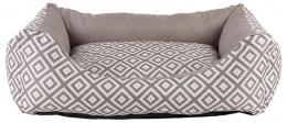 Спальное место для собак - Dog Fantasy DeLuxe Sofa, 93 x 80 x 22 см, brown
