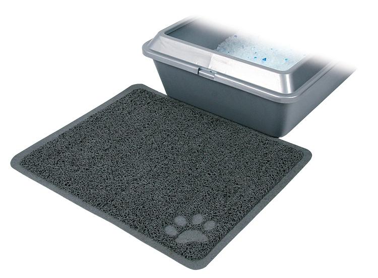 Paklājs kaķu tualetēm – TRIXIE Litter Tray Mat, PVC, 37 x 45 cm, Anthracite