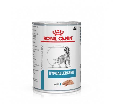 Ветеринарные консервы для собак - Royal Canin Hypoallergenic, 400 г
