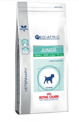 Veterinārā barība kucēniem - Royal Canin Pediatric Junior Small, 2 kg