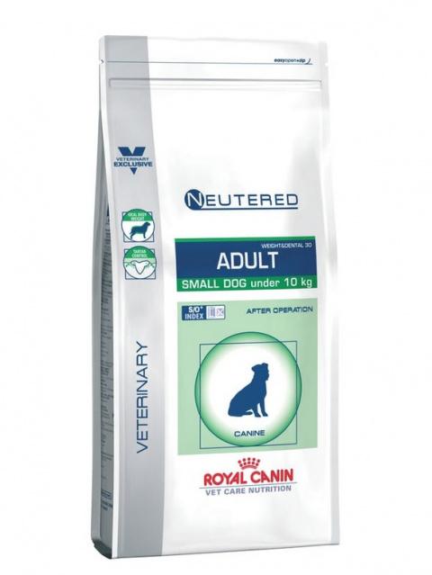 Veterinārā barība suņiem - Royal Canin Neutered Adult Small, 8 kg