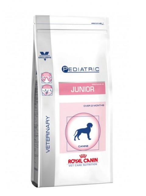 Veterinārā barība kucēniem - Royal Canin Pediatric Junior, 4 kg