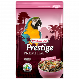 Barība putniem - Versele-Laga Prestige Premium Parrots, 2 kg