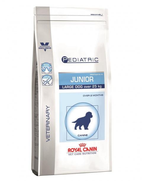 Veterinārā barība kucēniem - Royal Canin Pediatric Junior Large, 4 kg