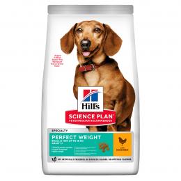 Barība suņiem - Hill's Canine Adult Perfect Weight Small & Mini Chicken, 1.5 kg
