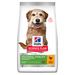 Barība suņiem - Hill's Canine Mature Adult 7+ Youthful Vitality Small&Mini Breed, 1.5 kg