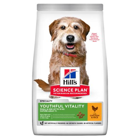 Корм для собак - Hill's Canine Mature Adult 7+ Youthful Vitality Small&Mini Breed, 1.5 кг