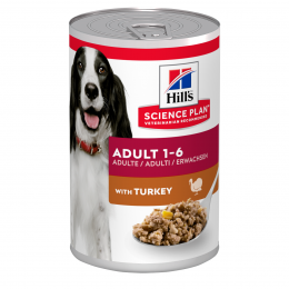 Консервы для собак - Hill's Canine Adult Turkey, 370 г