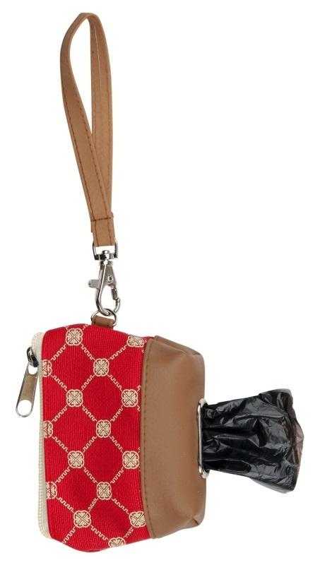 Konteineris atkritumu maisiņiem - Trixie Bag Dispenser, poliesters /eko āda