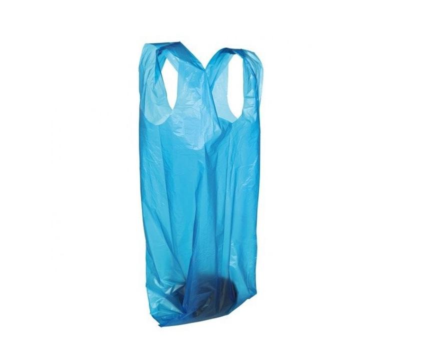 Maisiņi atkritumu savākšanai - plastmasas atkritumu maisiņi ar rokturiem, 3x15 gb