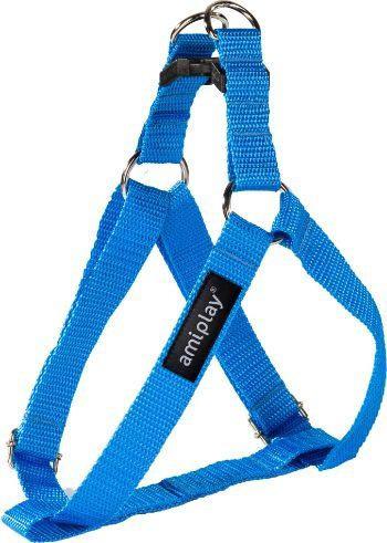 Krūšu siksna - AmiPlay Adjustable Harness Basic L, 40-75*2cm, krāsa - zila