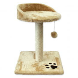 Когтеточка столбик - Magic Cat Lilly, beige, 45 см