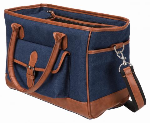 Transportēšanas soma dzīvniekiem - Trixie Orphina, 18 x 28 x 35 cm, blue title=