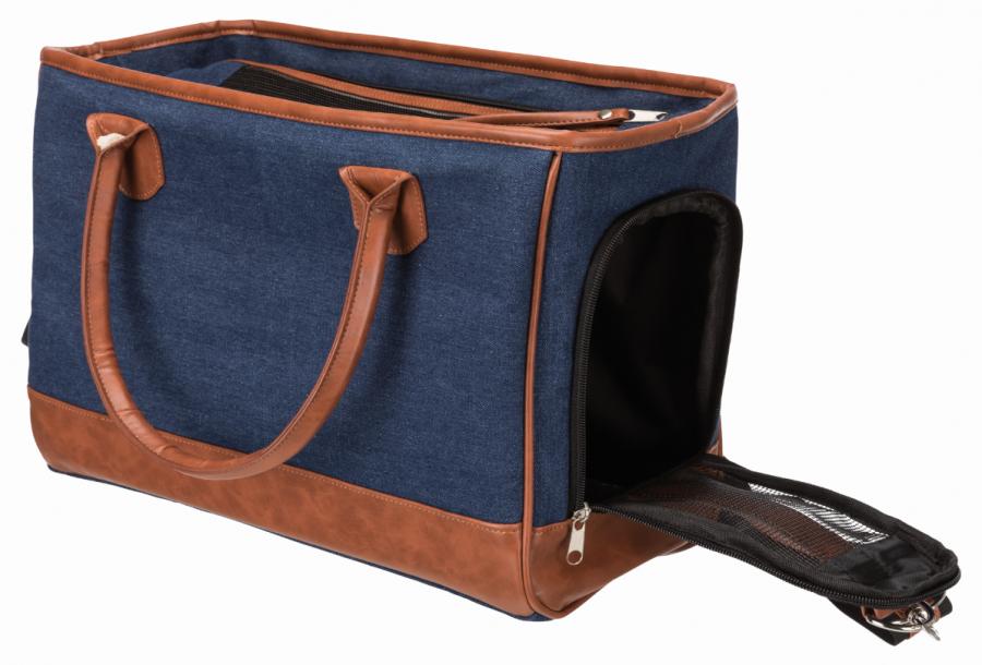 Transportēšanas soma dzīvniekiem - Trixie Orphina, 18 x 28 x 35 cm, blue
