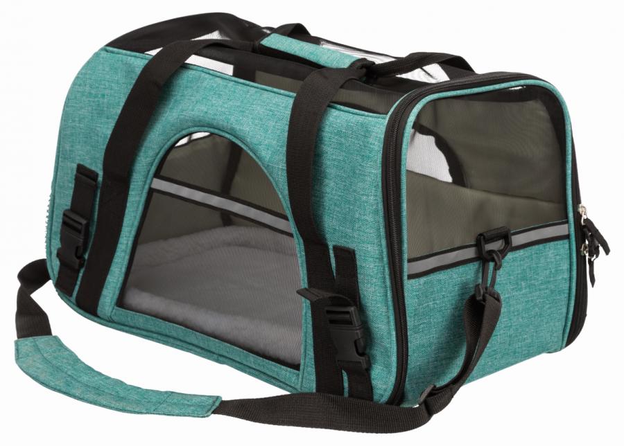 Transportēšanas soma dzīvniekiem - Trixie Madison, 25*29*44 cm, green