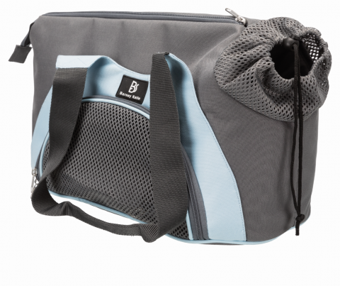 Transportēšanas soma dzīvniekiem - Trixie Scarlett, 21*30*50 cm, grey/blue