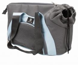 Transportēšanas soma dzīvniekiem - Trixie Scarlett, 21 x 30 x 50 cm, grey/blue