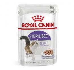 Konservi kaķiem - Royal Canin Feline Sterilised (loaf), 85 g