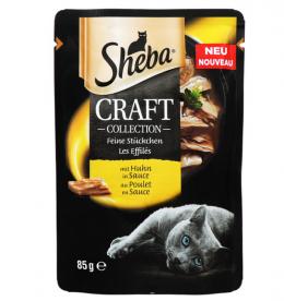 Konservi kaķiem - Sheba CRAFT Collection Chicken, 85 g