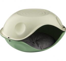 Guļvieta kaķiem - Duck Pillow covered bed with pillow, 57x48x32 cm