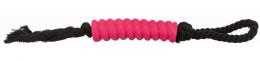 Rotaļlieta suņiem - Rope with stick, latex, cotton, 13 cm/40 cm