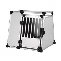 Transportēšanas bokss - Trixie Transport box, aluminium, L–XL, 94*87*93 cm